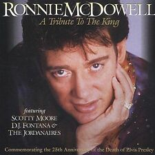 A Tribute To The King, Ronnie McDowell, Very Good CD