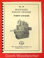 BLANCHARD 11 Surface Grinder Parts Manual 0780