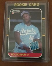 1987 Donruss Bo Jackson Rookie Card