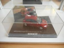 Norev Renault Megane Coupe SPort Dynamique 2.0 16V in Red on 1:43 in Box