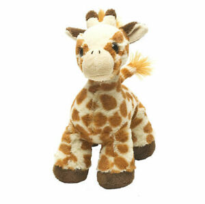 "Hug'ems Giraffe small soft plush toy 7""/17cm stuffed animal Wild Republic NEW"
