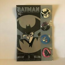 BATMAN Button Collection #3 Limited 1939-1989 NEW SEALED