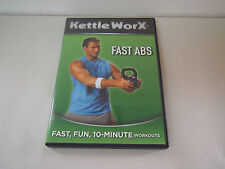 Kettle Worx FAST ABS DVD The Six-Week Body Transformation Ryan Shanahan
