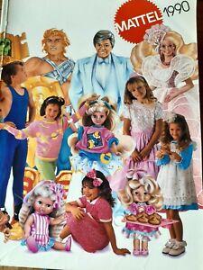 catalogue MATTEL PROFESSIONNEL 1990