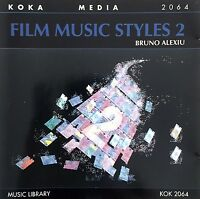 Bruno Alexiu CD Film Music Styles 2 - France (M/M)
