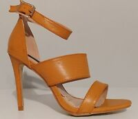 "NEW!! DBDK Fashion Tan Ankle Strap 4"" Heels Sandals Size 8.5M US 38.5M EUR"