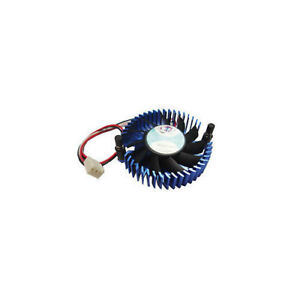 Dynatron 50mm x50mm x10mm 2Pin Active Chipset Cooler Ball Bearing (V35G)