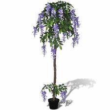 Kunstplant blauwe regen met pot 160 cm kunst boom plant kunstboom kunstbloem