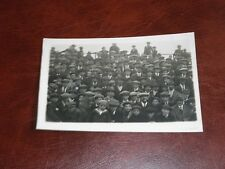 ORIGINAL REAL PHOTO POSTCARD - HULL ? FOOTBALL CROWD ?