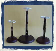 """Doll Stand model #DP22, with a 4 1/2"""" wood base to suit dolls 12"""" - 15"""""""