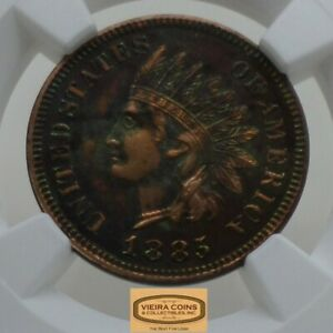 1885 Indian Head 1 Cent, NGC PROOF