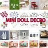 1:12 Doll Decro Miniature Food Wine Cup Bottle Cake Scale Furniture Accessory