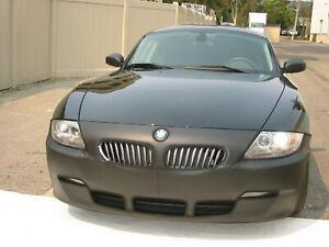 Colgan Front End Mask Bra 1pc. Fits BMW Z4 2003-2004 W/License Plate
