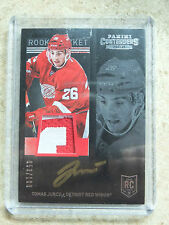 13-14 Panini Contenders Rookie Ticket Auto Patch RC #259 TOMAS JURCO /100