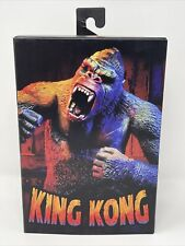 "NECA 7"" Ultimate Action Figure KING KONG Illustrated / Walmart NEW - Box Damage"