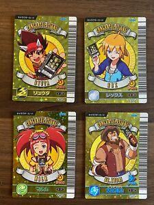 Dinosaur King RARE D-Team Character Set Japanese Arcade Cards