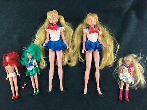 Sailor Moon Adventure Doll from Irwin - TLC Lot of 5