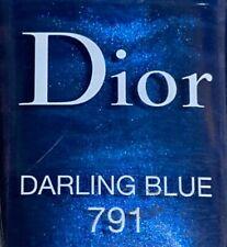 Dior nail polish 791 DARLING BLUE limited edition