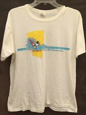 vtg 80s Expo 86 Vancouver SURFING SPACEMAN ASTRONAUT t shirt soft thin CANADA M