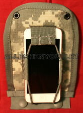 USGI Military MOLLE II ACU GPS Leaders Pocket Pouch 2-Way Radio Cell Phone NIB