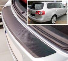 VW Passat B6 Variant - Carbon Style rear Bumper Protector