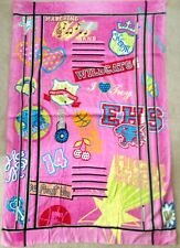 Disney High School Musical Pink Locker Beach Towel marching band Wildcats NEW