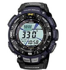 CASIO Pro-Trek Series Watch Black Blue Tough Solar Power PAG240B-2