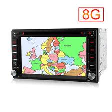 Doppel 2 Din GPS Autoradio DVD Player  Bluetooth USB FM MP3 SD  Radio