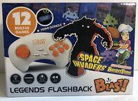 Legends Flashback Blast! Space Invaders BurgerTime 12 Built-In Games!