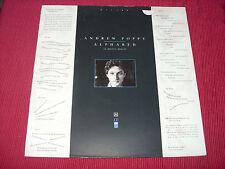 Andrew Poppy:  Alphabed  A1/B1  EX   ZTT    LP