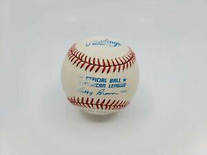 Vintage 1985 Rawlings Official Ball American League Baseball Bobby Brown #2