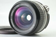 【NEAR MINT+++】Nikon Ai-S Nikkor 28mm f/2.8 Wide MF Prime Lens from JAPAN