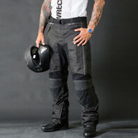 Motorbike Motorcycle Cordura Textile Trousers/Pants CE Approved Armours NEW