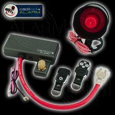KFZ ALARMANLAGE 2 x Fernbedienung Anlassunterbrecher 12 Volt Alarmfunktion Alarm