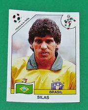 N°204 SILAS BRESIL BRASIL PANINI COUPE MONDE FOOTBALL ITALIA 90 1990 WC WM