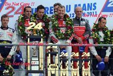Fassler & Lotterer & Treluyer Audi R18 TDi Winners Le Mans 2011 Photograph 22