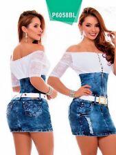 BEAUTIFUL COLOMBIAN DRESS SIZE 7 USA  #6058 BY PIT-BULL