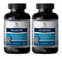 Biotin   ANTI GRAY HAIR CARE   Restore Natural Hair Color 2B