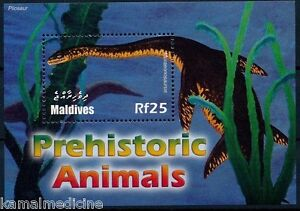 Maldives 2005 MNH SS, Dinosaurs, Sea Prehistoric Mammals