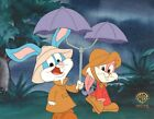 Tiny Toons Buster Babs Warner Brothers Production Cel with COA and Seal 1990 140