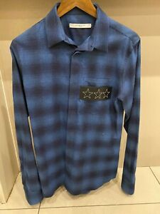 Givenchy Star Flannel Shirt