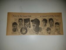 Bill Bevens Con Dempsey George Schmees Nippy Jones 1951 Sporting News Collage