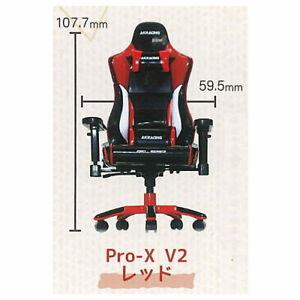 SO-TA Gashapon Capsule AKRacing 1/12 Pro-X V2 Chair Miniature # 1 Red