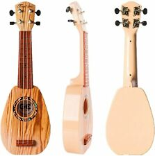 17 Inch Kids Ukulele Guitar Toy 4 Strings Mini Children Musical Instruments