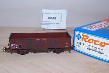 """Roco 46618 Wagon tombereau métalliques SNCF type E 01 87 505 0 850-1 """" patiné """""""
