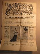 Göttingen - Beilage zur Göttinger Zeitung - Lustige Blätter - Nr. 8 / 1916