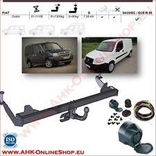 Gancio di traino fisso Fiat Doblo 2001-2009 + kit elettrico 13-poli OMOLOGAZIONE