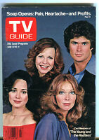 TV Guide Magazine July 8-14 1978 The Young And The Restless VG 050916jhe