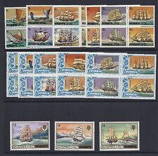PENRHYN ISLANDS 1981 SAILING SHIPS Scott 160-72 VF MNH