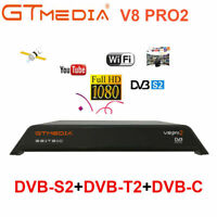 GTMedia V8 Pro2 H.265 FHD DVB-S2/T2/C/ISDB-T Satellite Receiver WiFi TV Box HDMI